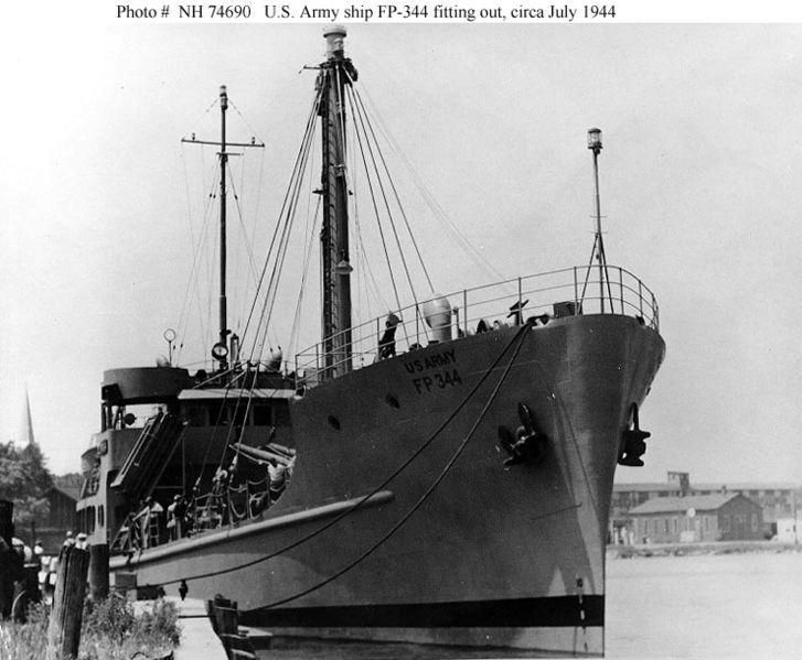 FP-344 In Kewaunee Harbor
