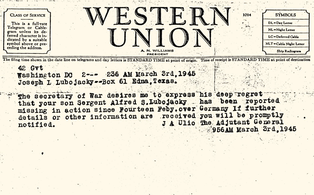 Telegram 03-Mar-45 (2)