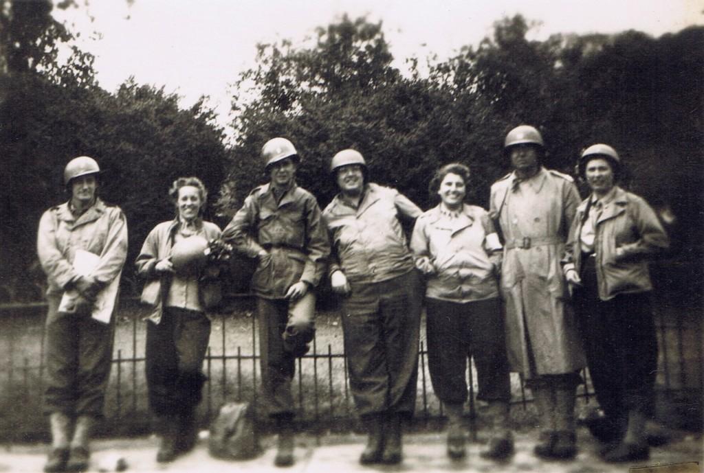 16 - Paris after Liberation 24th Evac Hosp members
