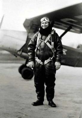 Lieutenant Janina Lewandowska, Polish WWII pilot.